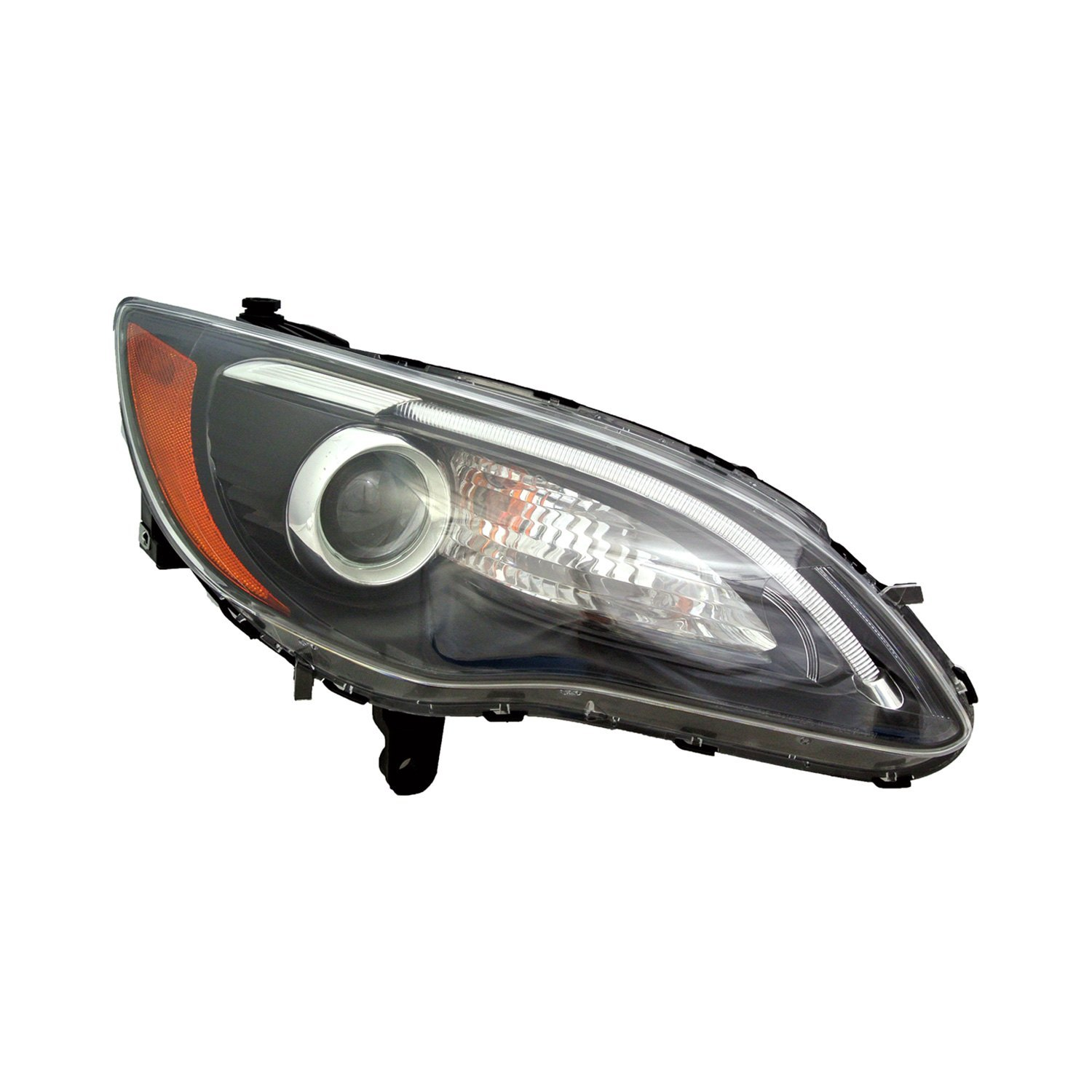 Replace 174 Chrysler 200 With Factory Halogen Headlights