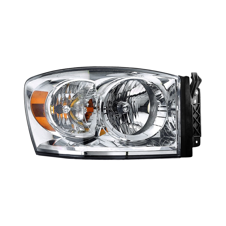 Dodge Replacement Headlights: Dodge Ram 1500 / 2500 / 3500 2007 Replacement