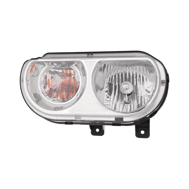Dodge Replacement Headlights: Dodge Challenger 2009-2010 Replacement Headlight