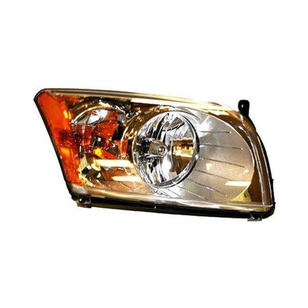 Dodge Replacement Headlights: Dodge Caliber 2007-2012 Replacement Headlight