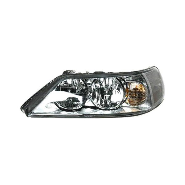replace lincoln town car with factory halogen headlights 2003 2004 replacement headlight. Black Bedroom Furniture Sets. Home Design Ideas