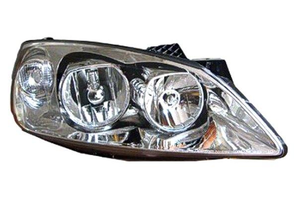 Replace 174 Pontiac G6 2008 2010 Replacement Headlight
