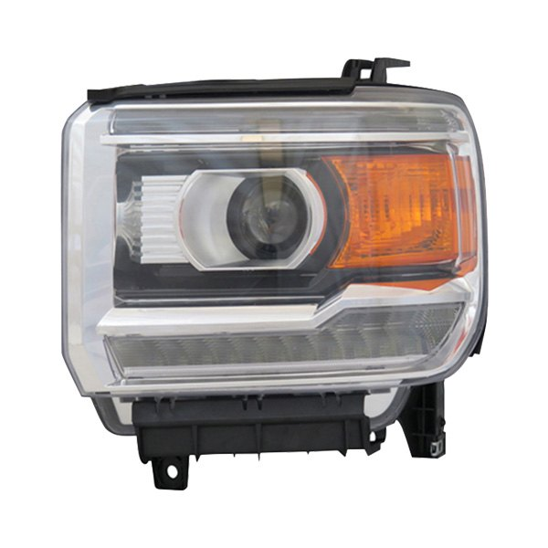 Replace       GMC       Sierra    1500    2014    Replacement    Headlight