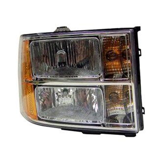 replace gmc sierra 2500 hd 3500 hd 2nd generation 2014 replacement headlight. Black Bedroom Furniture Sets. Home Design Ideas
