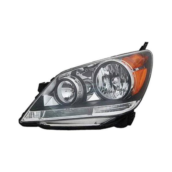 Replace Honda Odyssey With Factory Halogen Headlights 2008 2010 Replacement Headlight