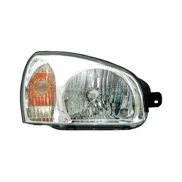 2003 Hyundai Santa Fe Interior: Hyundai Santa Fe 2003 Replacement Headlight