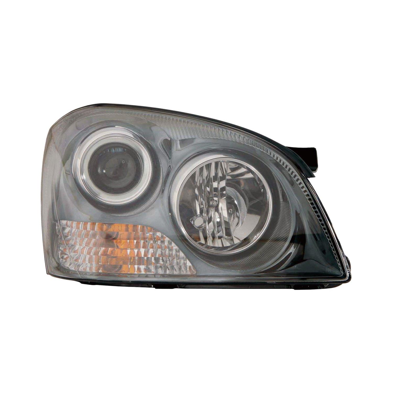 service manual   adjust headlights    kia