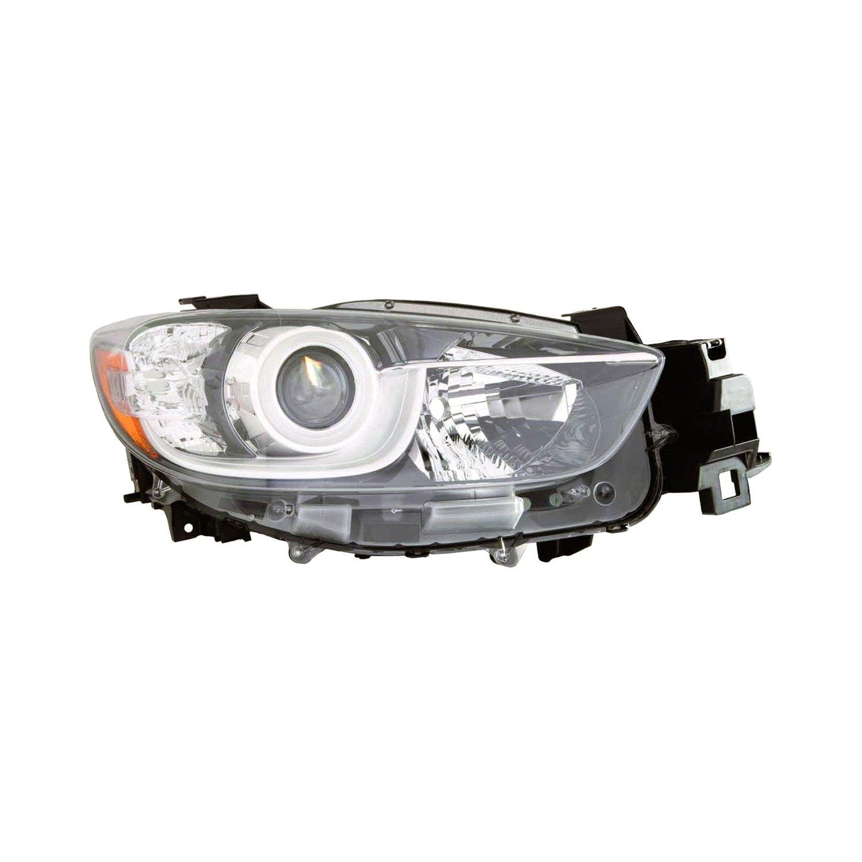 Mazda 5 Headlight Parts Diagram: Mazda CX-5 With Factory Halogen Headlights 2016