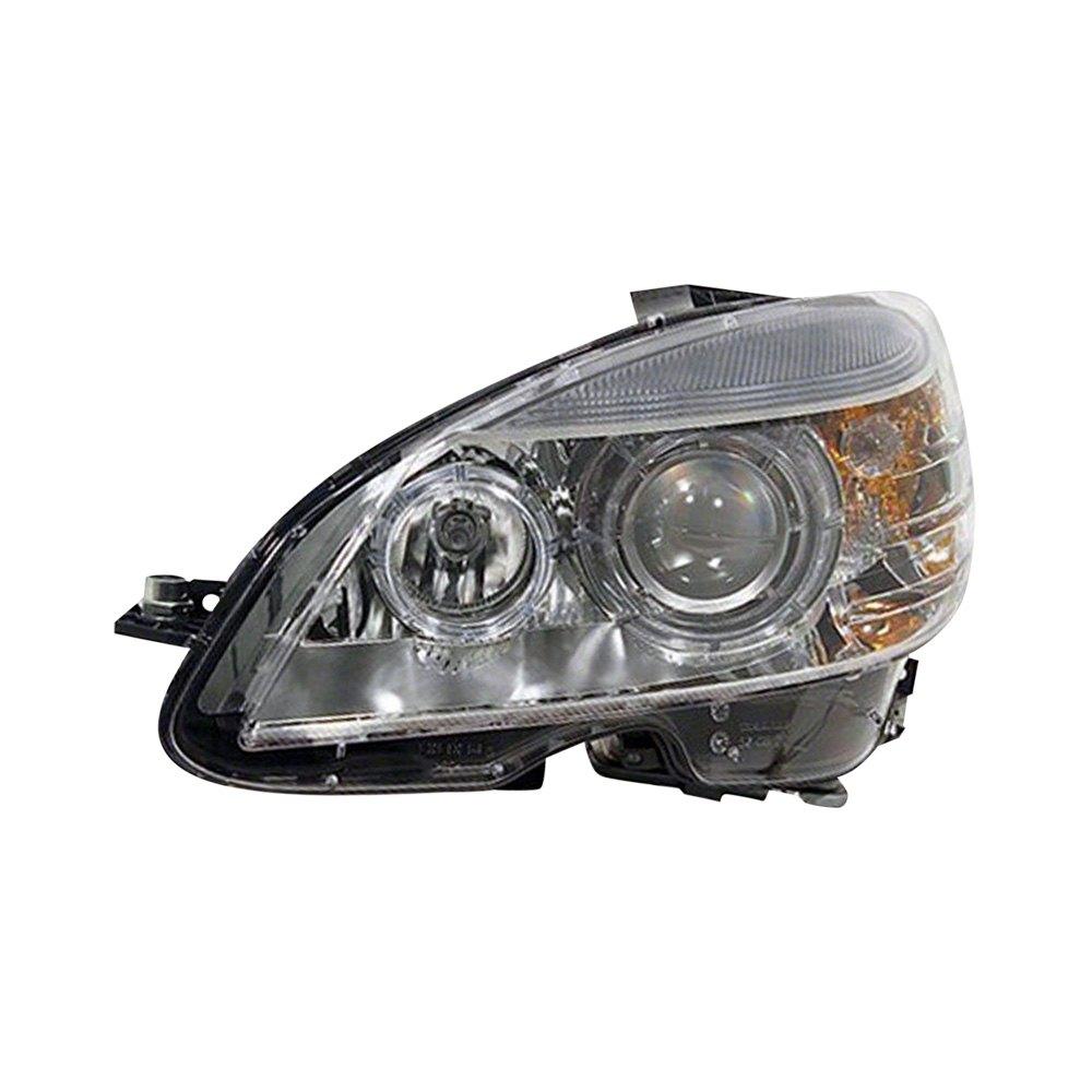 Service manual 2008 mercedes benz cls class headlight for Mercedes benz aftermarket headlights