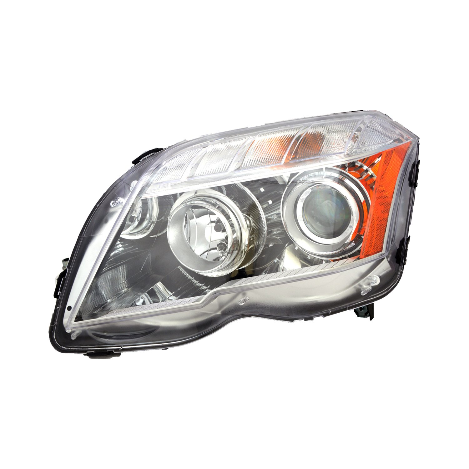 Replace mercedes glk350 with factory halogen headlights for Mercedes benz aftermarket headlights