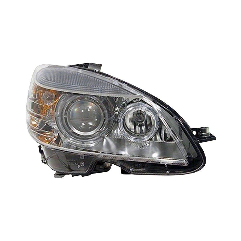 Replace mercedes c class 2010 2011 replacement headlight for Mercedes benz aftermarket headlights