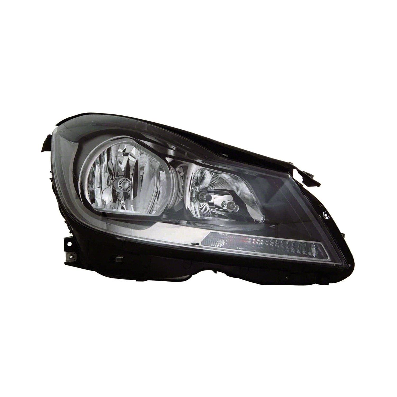 Replace mercedes c class 2014 replacement headlight for Mercedes benz aftermarket headlights
