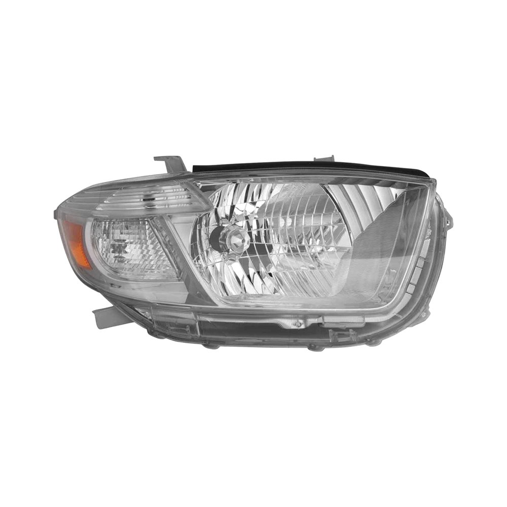 Replace toyota highlander 2010 replacement headlight for Garage toyota lens
