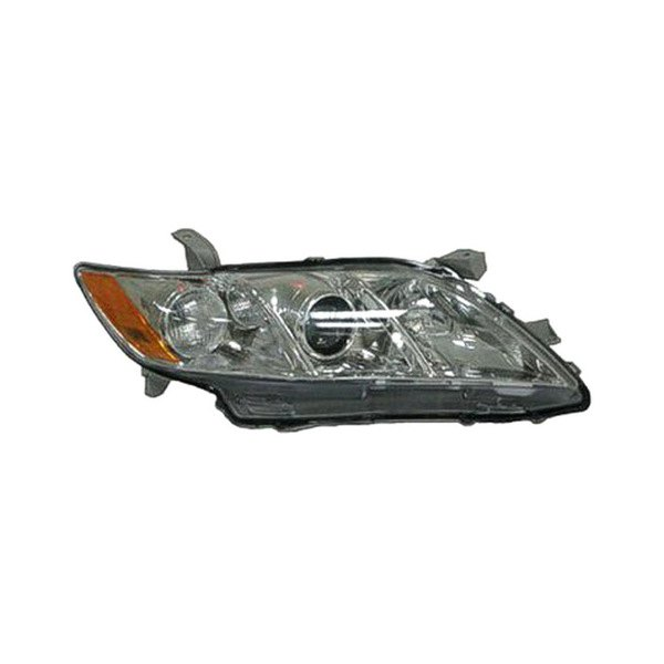 replace to2519105v toyota camry 2007 2008 passenger side replacement headlight. Black Bedroom Furniture Sets. Home Design Ideas