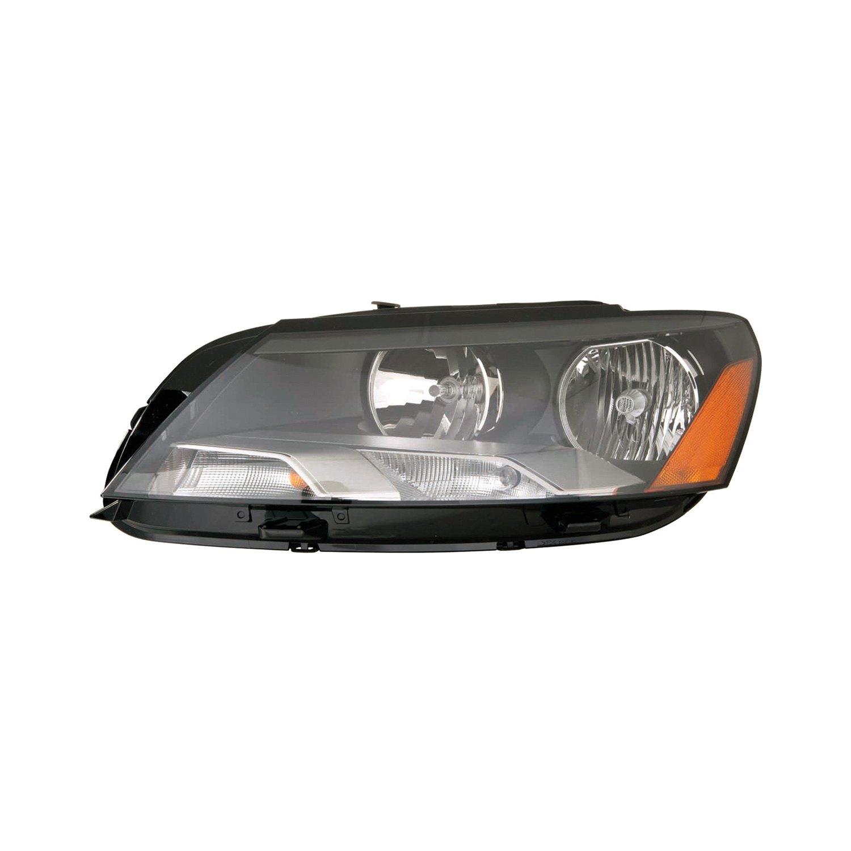 Replace® - Volkswagen Passat with Factory Halogen Headlights 2012-2015 Replacement Headlight