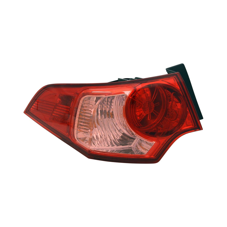 Acura TSX Sedan 2012 Replacement Tail Light