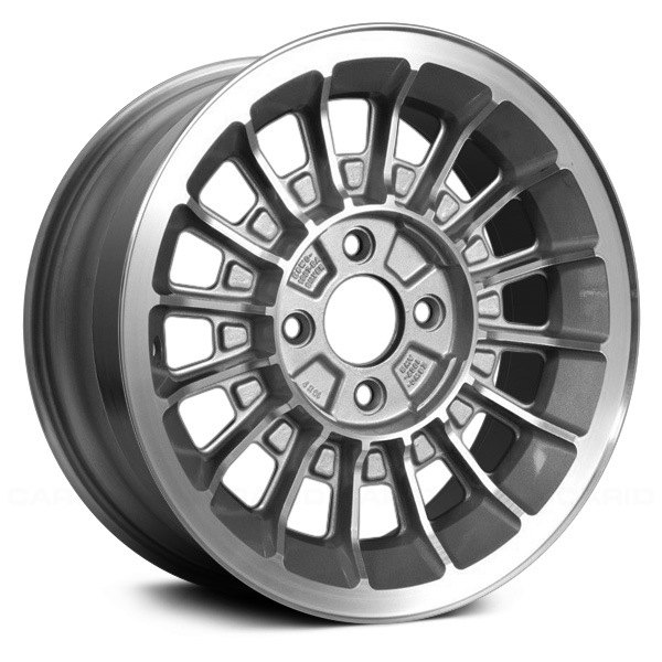 For Ford Mustang 87 91 15 Quot Remanufactured 16 Spokes Argent