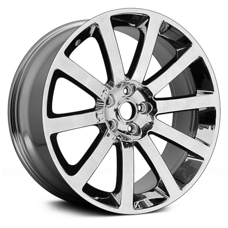 For Chrysler 300 05-11 20x9 10-Spoke Chrome Alloy Factory