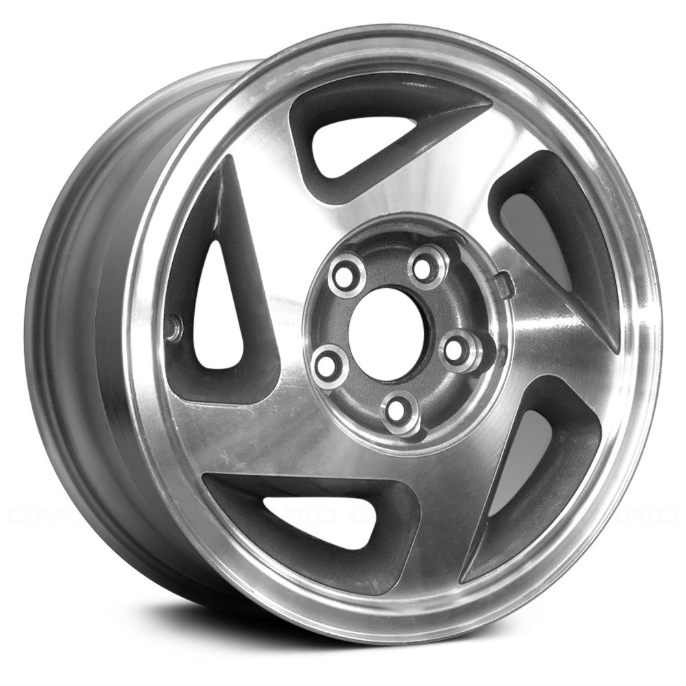 Replace® - 15 x 7 5-Hole Argent Alloy Factory Wheel (Remanufactured)
