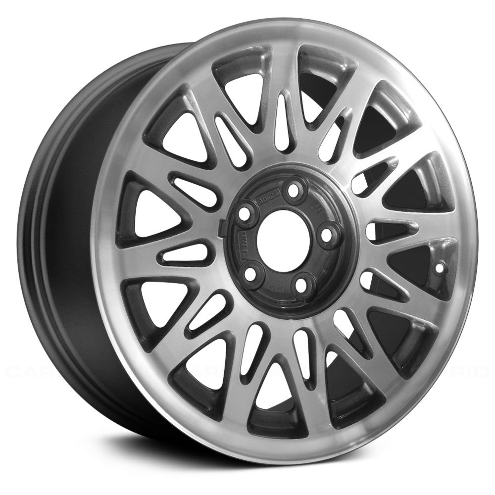 Lincoln Car Deals: Replace 16x7 Snowflake Design Charcoal Gray Alloy Factory