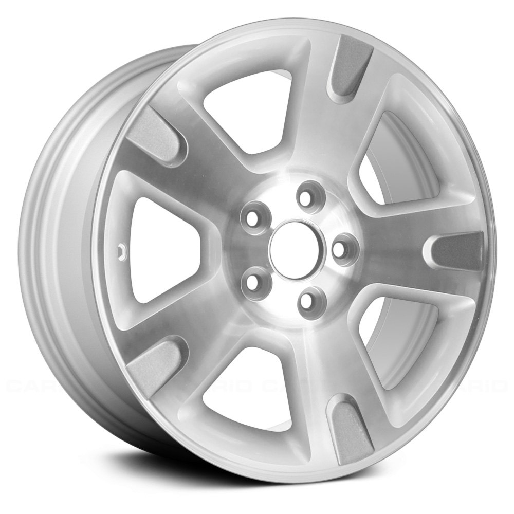"""Replace® - 16"""" Remanufactured 5 Spokes Silver Factory Alloy Wheel"""