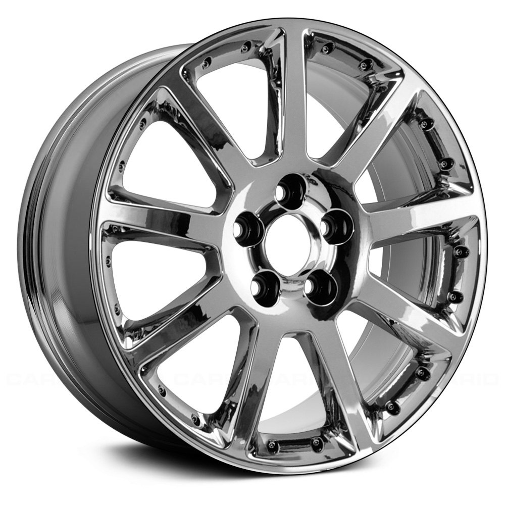 For Cadillac Sts 05 08 18 Quot Remanufactured 9 Spokes Chrome