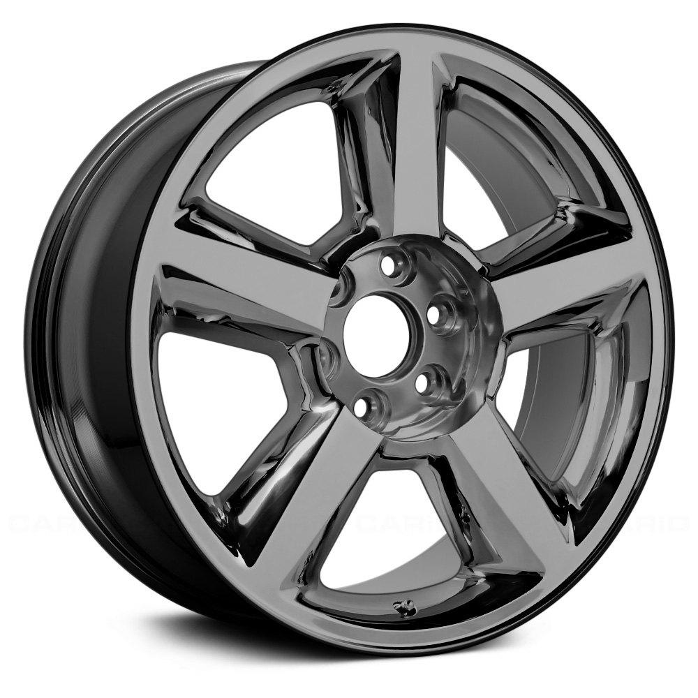 for chevy silverado 1500 07 09 alloy factory wheel 20x8 5 5 spoke White 2017 Chevy Silverado 1500 for chevy silverado 1500 07 09 alloy factory wheel 20x8 5 5 spoke dark pvd