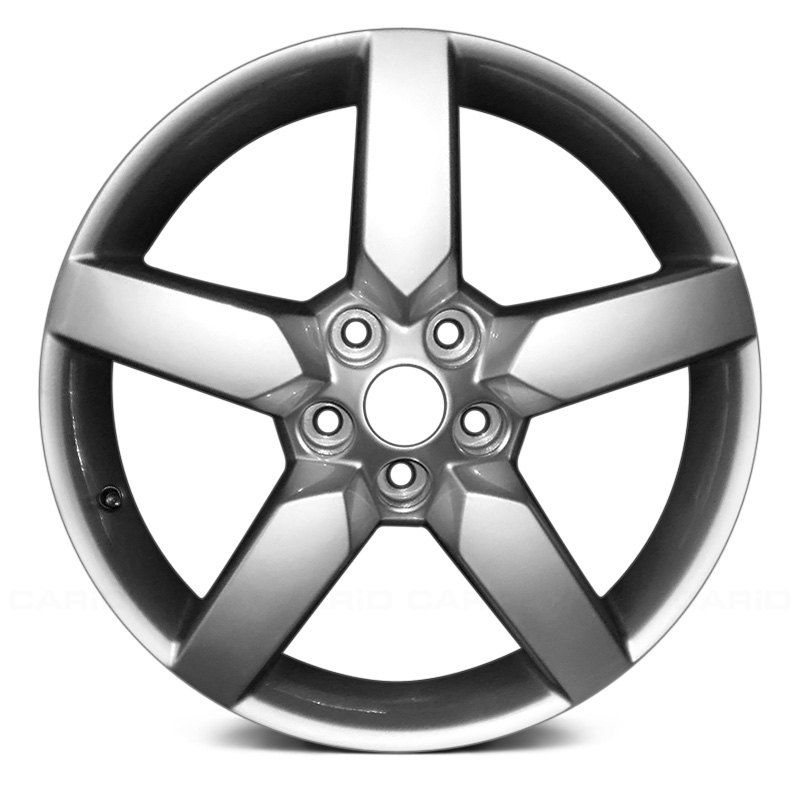 for chevy camaro 10 15 19x8 5 spoke silver alloy factory wheel 1970 Chevy Nova Black for chevy camaro 10 15 19x8 5 spoke silver alloy factory wheel remanufactured