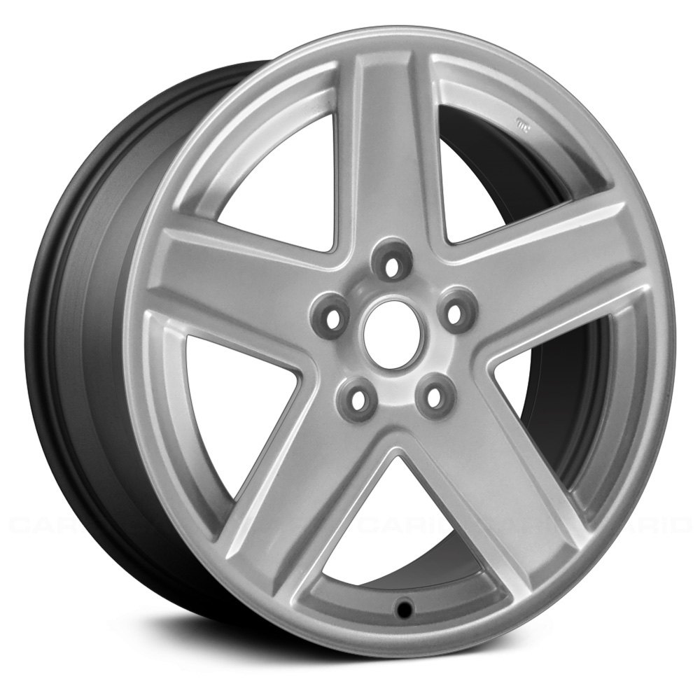 Used 2009 Jeep Patriot: For Jeep Patriot 07-10 Alloy Factory Wheel 17x6.5 5-Spoke