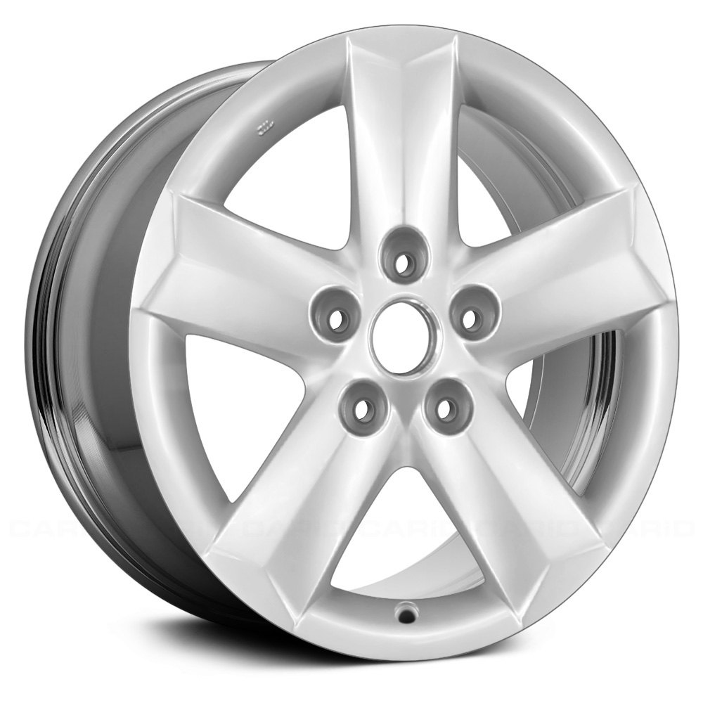replace nissan rogue 2012 16 remanufactured 5 spokes factory alloy wheel. Black Bedroom Furniture Sets. Home Design Ideas