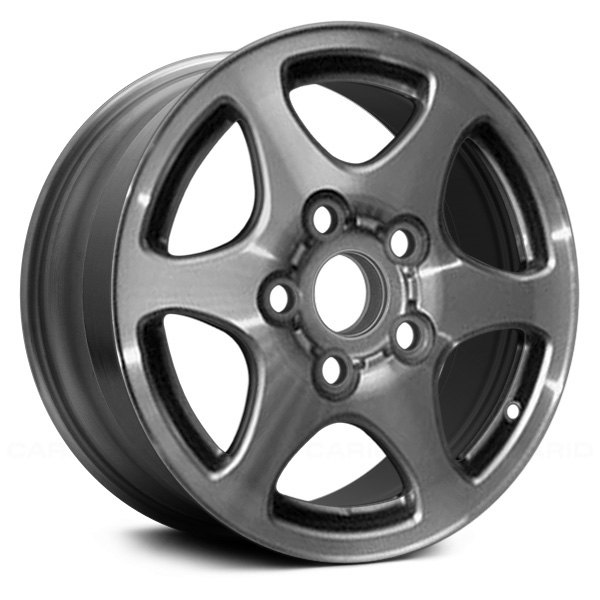 For Toyota Camry 97 99 14x5 5 6 Spoke Silver Alloy Factory Wheel