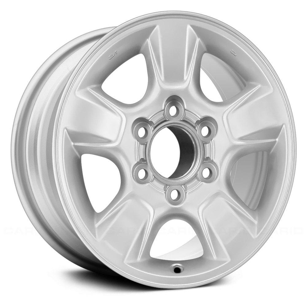 05 Toyota Tundra: For Toyota Tundra 05-06 16x7 5-Spoke Silver Alloy Factory