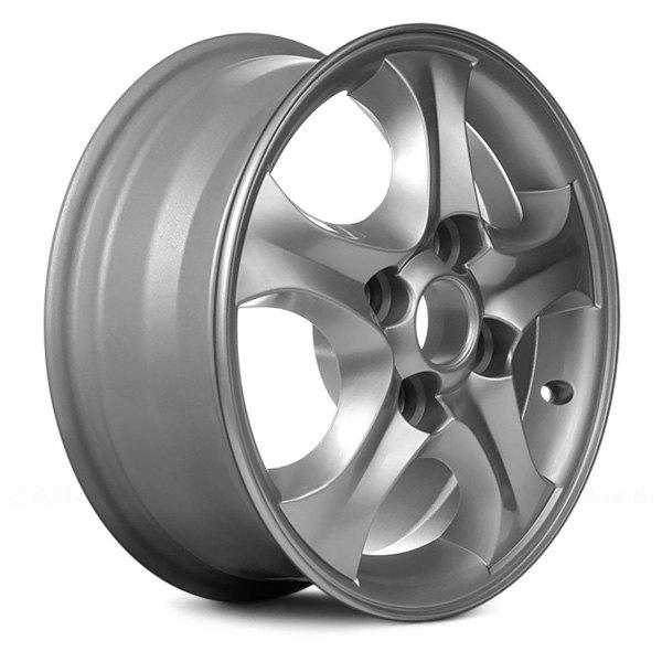 Hyundai Elantra Tire Size: For Hyundai Elantra 01-06 Alloy Factory Wheel 15x6 5-Spoke