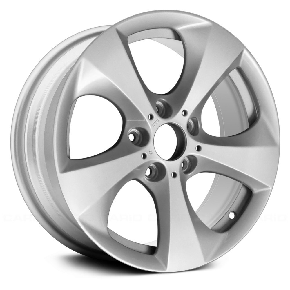 BMW X3 2011 17x8 5-Spoke All Painted Silver