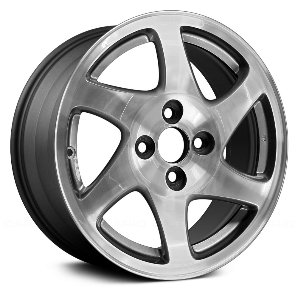 Acura Integra 2001 6 Curved-Spoke 15x6 Alloy