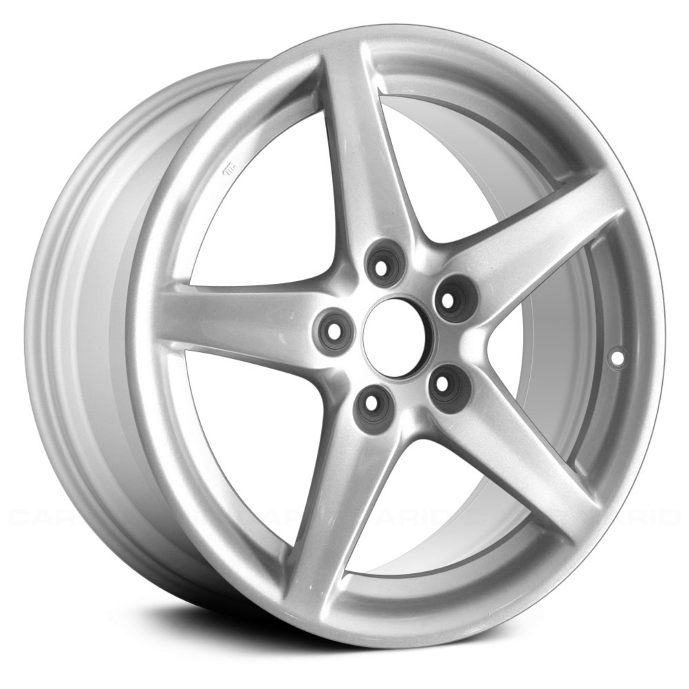 For Acura RSX 05-06 17x7 5-Spoke Silver Alloy Factory