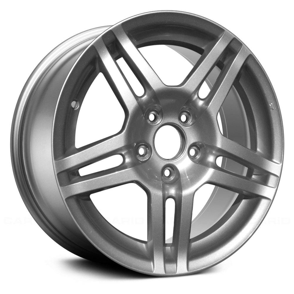 """Acura TL 2007-2008 17"""" 5 Double Spokes Silver"""