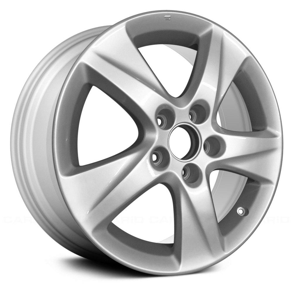 Acura TSX 2011 17x7.5 5-Spoke Silver Alloy