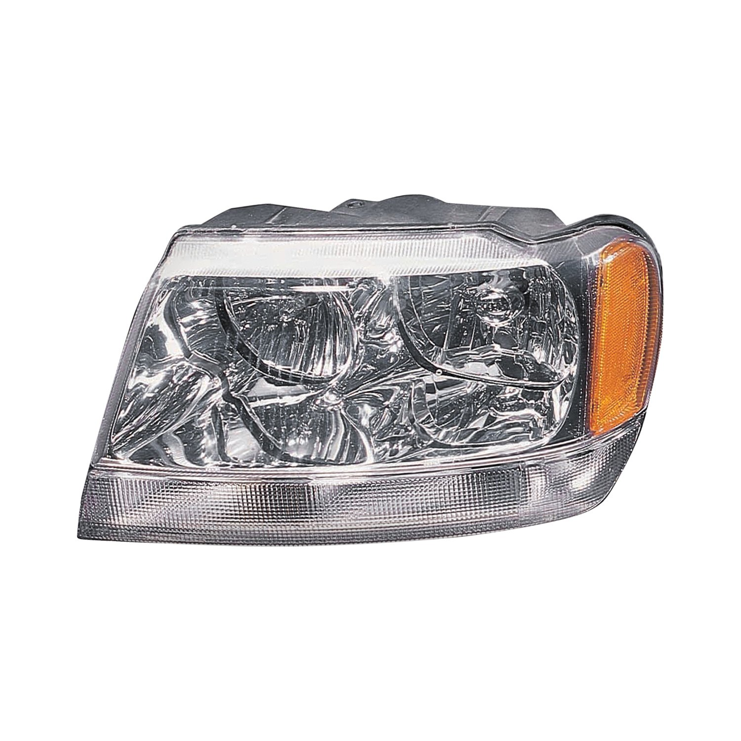replace jeep grand cherokee limited overland 2002 2004 replacement headlight. Black Bedroom Furniture Sets. Home Design Ideas