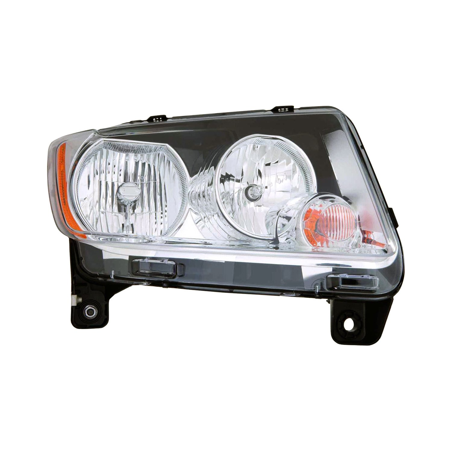 For Jeep Compass 11-13 Headlight Lens And Housing
