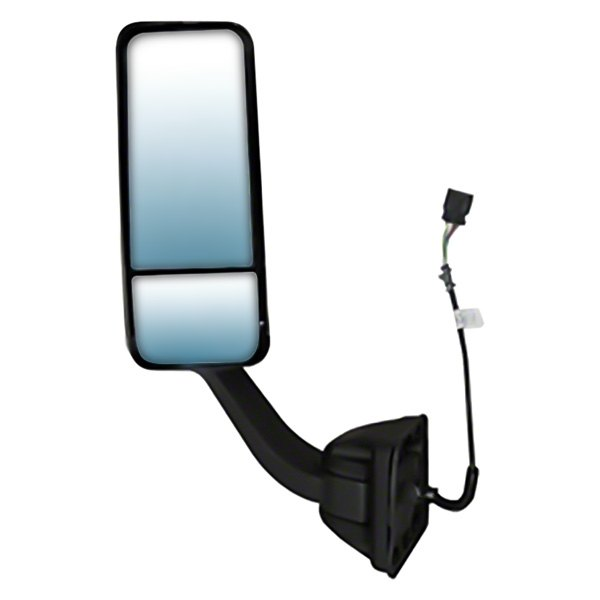 For Freightliner Cascadia 2008-16 Driver LH side Hood Black Power heated Mirror