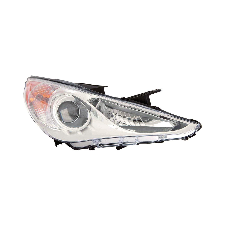 Replace 174 Hyundai Sonata 2013 Replacement Headlight