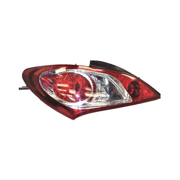replace hyundai genesis coupe 2011 2012 replacement tail light. Black Bedroom Furniture Sets. Home Design Ideas