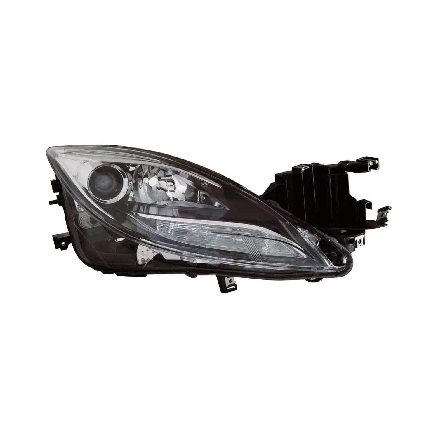 Replace mazda 6 with factory hid xenon headlights 2011 for Garage mazda loison sous lens