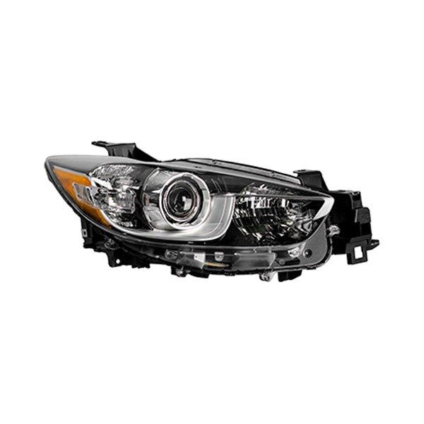 Mazda 5 Headlight Parts Diagram: Mazda CX-5 2014 Replacement Headlight