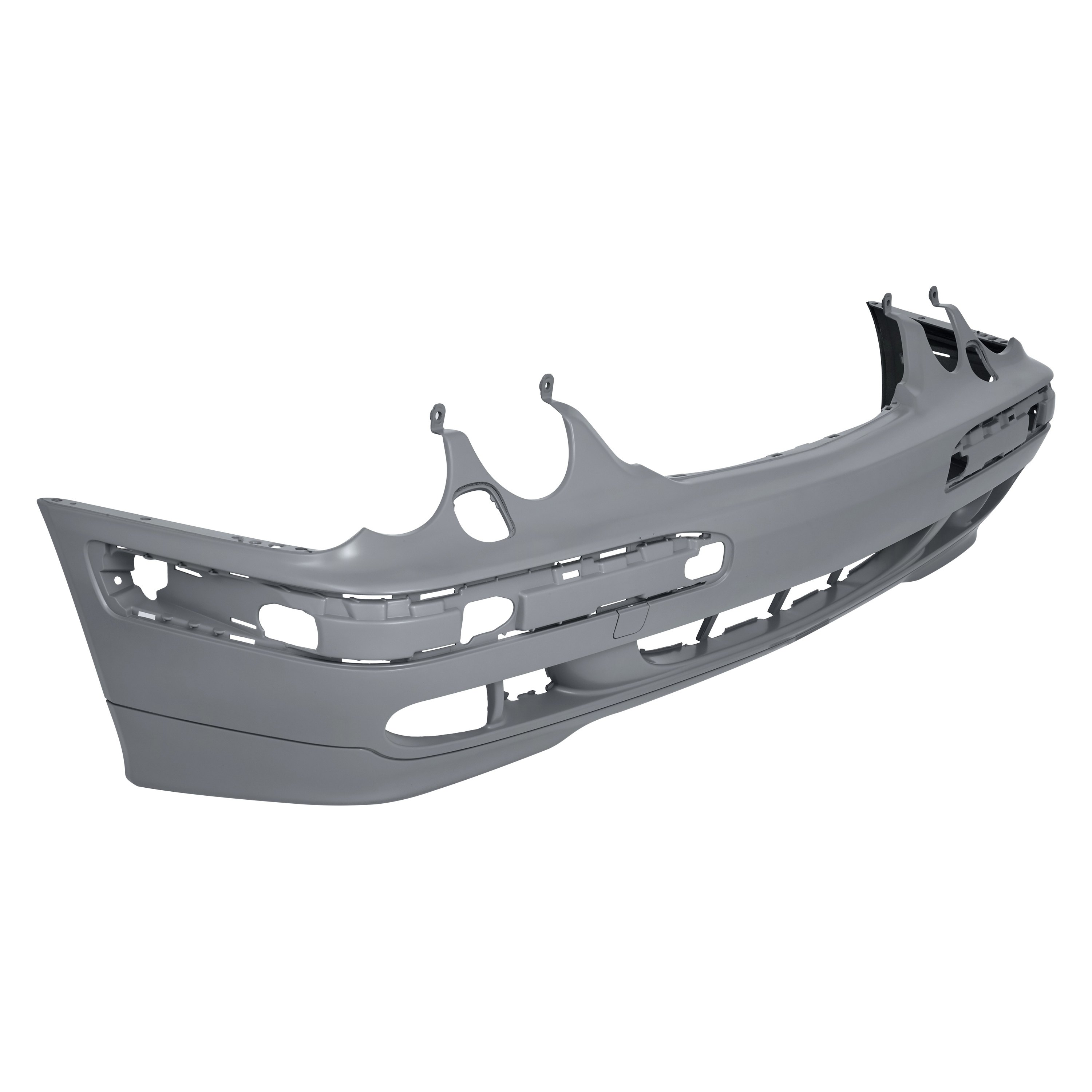 Front Bumper Cover For 2000-2003 Mercedes Benz E320 Primed Plastic