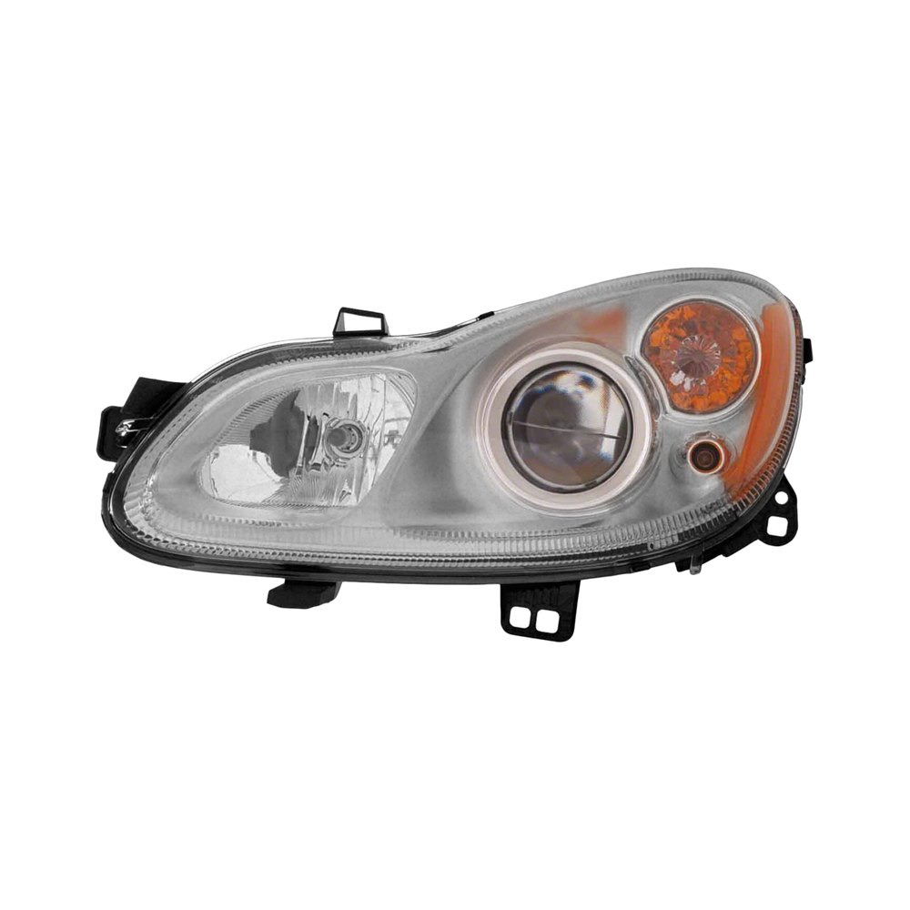 Car Headlights Replacement : Replace smart car fortwo with factory halogen
