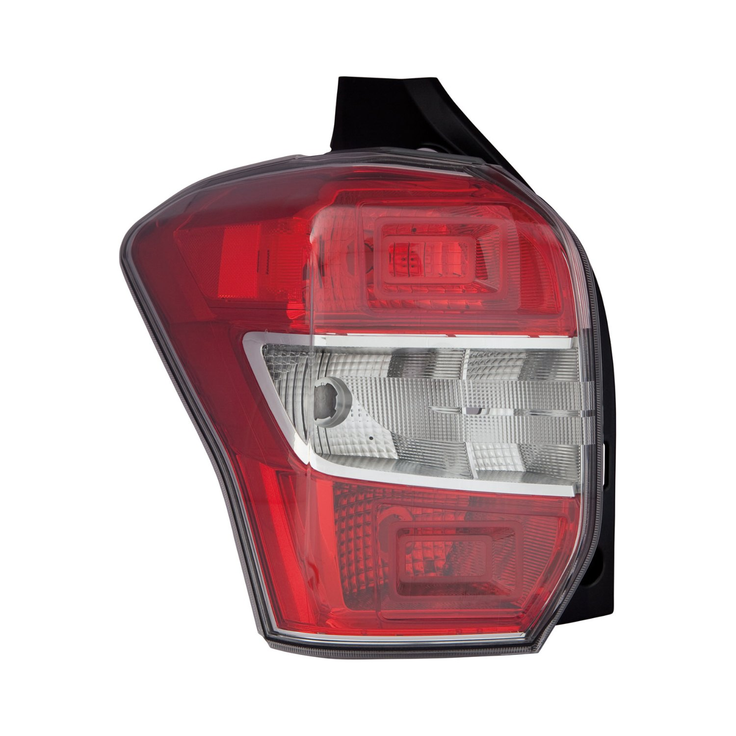 replacement driver side tail light replacement-clear & red lens