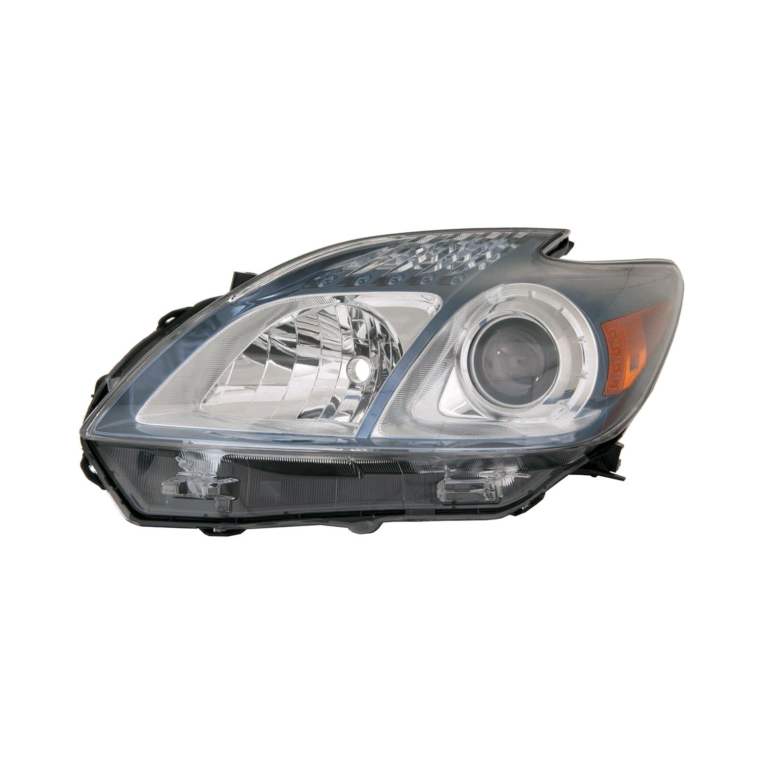 Replace toyota prius with factory halogen headlights for Garage toyota lens