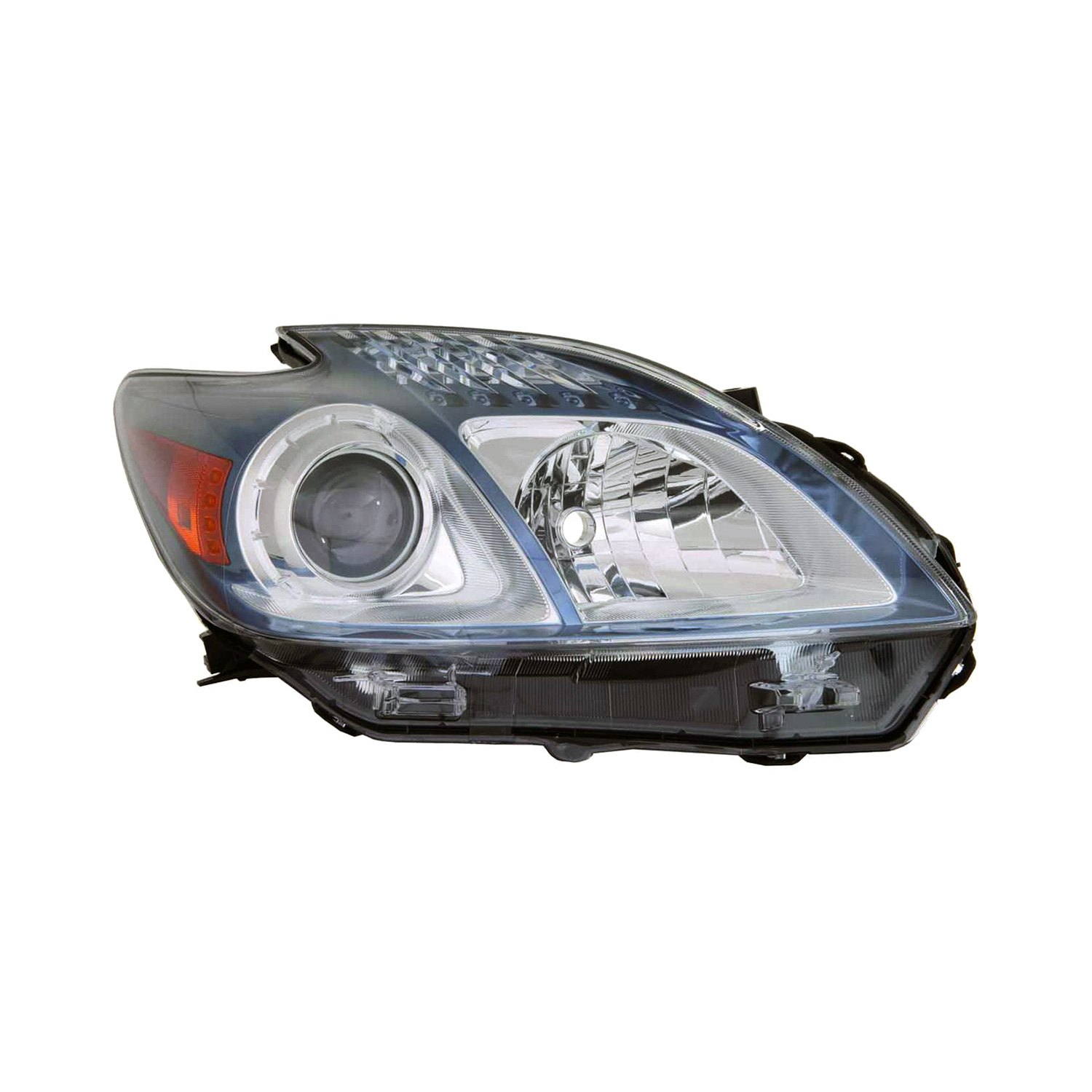 Replace toyota prius 2012 2014 replacement headlight for Garage toyota lens